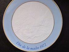 Lladro 1972 DIA DE LA MADRE Mother's Day Plate MIB