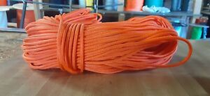 4 mm x 200 ft. Accessory Cord/Rope. Banner/Camp/Utility. Orange. 700 #. US Made