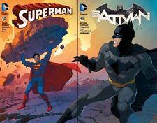 Superman #50 & Batman #50 Madness Games Middleton Connecting Variants