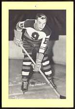 1934-1943 BEEHIVE GROUP ONE RAY CONACHER BOSTON BRUINS HOCKEY PHOTO