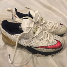 Shoes White/NNike Lebron XIII Low Shoes Size 11.5M Red/ White/ Gold 831925-164