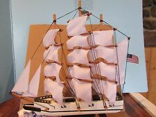 """Whaling ship, 15 1/2"""", The Heritage Mint Ltd Tall Ships of the World Collection"""