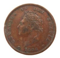 .SUPERB HIGH GRADE EF / EF+ 1826 ENGLISH PENNY. PERFECT SPECS.