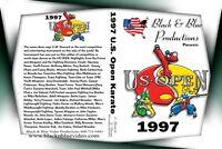 1997 U. S. Open ISKA World Karate Championships DVD 2 hours long