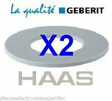 2 joints GEBERIT réf 816.418.00 D63/32/3 mm pour cloche WC GEBERIT joint de WC