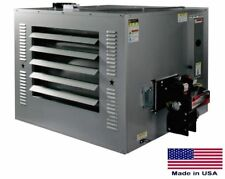WASTE OIL HEATER Commercial - 300,000 BTU - 10,000 sq ft - Incl Roof Chimney Kit