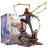 Big Spiderman Action Figure Infinity War Avengers Iron Spider-Man PVC Statue