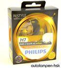 PHILIPS ColorVision H7 AMARILLO Bombillas Halógena Juego De 2 Art No.