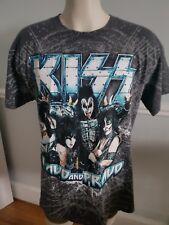 KISS - (THE TOUR) 2012 CONCERT SHIRT L Men's T-shirt EUC