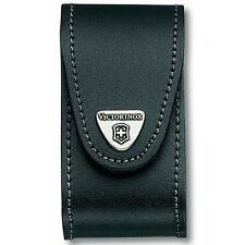 Victorinox Leather Pouch - 5-8 Layer Black