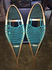 Maine Guide Snowshoes Vintage Style Ash Beavertail