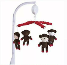 belle Nursery Decor Musical Mobile - Monkeying Around! Plays Brahms' Lullaby!