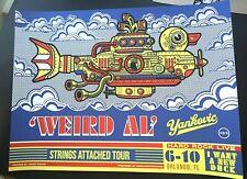 Weird Al Yankovic Orlando Fl 2019 Ap Vip Print Poster Jesse Philips beatles