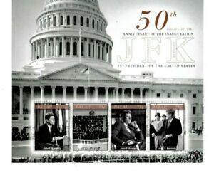 Palau - 2011 - President John F. Kennedy - Sheet of Four - MNH
