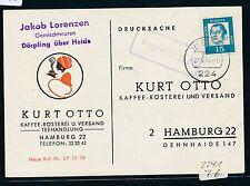 93485) 224 Heide Landpost Ra1 2241 Dörpling kopfst. auf Fa-Karte