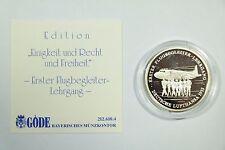 Flugbegleiter Lehrgang - Einigkeit und Recht und Freiheit - 999 Silber 8,5g /S3