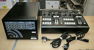 Tricaster TCXD40 V2 + Roland Edirol V-440HD Video Controller