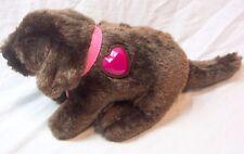 "Mattel Barbie LIGHT UP PUPPY DOG WITH SOUNDS 12"" Plush STUFFED ANIMAL Toy"