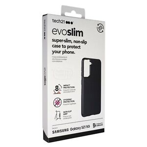 tech21 Evo Slim. Drop Protection Case for Samsung Galaxy S21 - Black