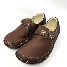 Alegria PG Lite Dream Fit Den 589 Brown Slip On Comfort Shoes Womens Size 37