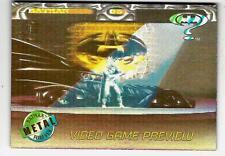 1995 Acclaim Batman Video Game Preview Card # A-1