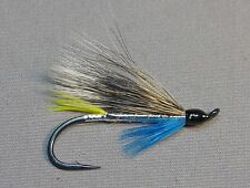 Silver Blue Atlantic Salmon Flies - 6 Fly MULTI-PACK - Sizes 4, 6 and 8