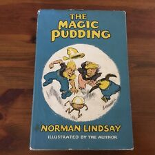 VINTAGE 1961 ED - THE MAGIC PUDDING WRITTEN & ILLUSTRATED BY NORMAN LINDSAY HC/D