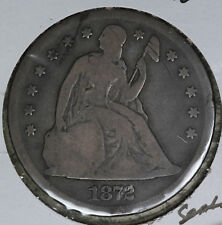 1872 Seated Liberty Dollar - Nice Original Good Condition Coin!!