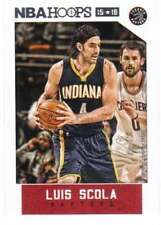 2015-16 Panini NBA Hoops #44 Luis Scola Toronto Raptors NM Trading Card