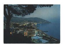 Cartolina ANDORA Riviera dei Fiori NOTTURNO panorama 1976 Liguria Rotalcolor
