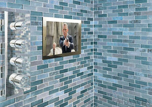 "19"" 2020 SARASON Waterproof Bathroom LED Mirror SMART OPTION TV LG Via Firestick"