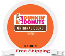 Keurig Dunkin Donuts Original Blend Coffee K-cups 44Count