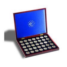 Coffret pour 35 pièces de 2 euros commémoratives, livré avec capsules.