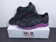 "Asics Gel-Lyte III ""Borealis pack"" H6X0L Black/Purple Men's Sz 8"