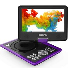 """COOAU Portable DVD Player 11.5"""" with Game Joystick, Swivel HD Screen, Sup... New"""
