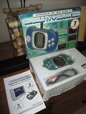 Rétro gaming-Console tv années 90-14 jeux intégrés+ecran lcd-comme neuve