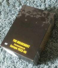 THE HOLOCAUST.PERCECUTION IN EUROPE.1933-1945.DVD BOXSET.VERY RARE.