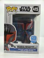 *IN HAND* Funko Pop! Star Wars Mandalorian Super Commando #415 Shop Exclusive