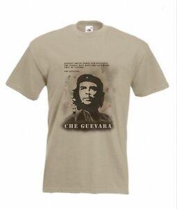 Che Guevara T-shirt Viva La Revolution Size S-XXL