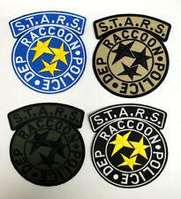 STARS Raccoon Police Biohazard Resident Evil VELCRO® BRAND Hook Fastener Patch