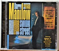 CD Barry Manilow Swing Street Summertime Stardust Stompin at the Savoy CLEAN!