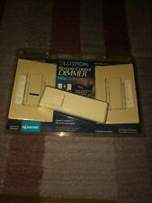 NEW LUTRON SPACER 600 WATT 3 WAY PRESET REMOTE CONTROL DIMMER KIT - IVORY