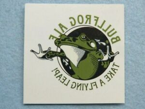 Temporary Beer Tattoo Sticker: ROGUE Issaquah Brewhouse BULLFROG Ale; WASHINGTON