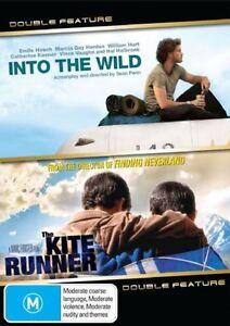 Kite Runner DVD + Into The Wild - MOVIE DOUBLE - SAME / NEXT DAY POST