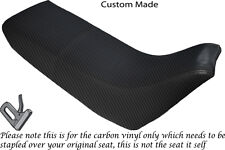 CARBON FIBRE VINYL CUSTOM FITS YAMAHA XT 660 Z TENERE 3YF OLD SHAPE SEAT COVER