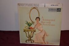 A SENTIMENTAL DATE WITH PERRY COMO  EPB-1177 ( 2) 45 RECORDS