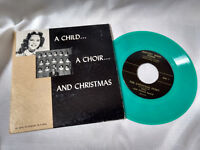 A Child... A Choir... and Green Was Private Xmas Southern Gospel VG++ PS