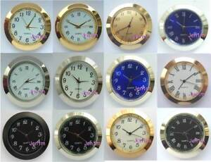"""37mm (1,15/32"""") Clock/Watch inserts fits 34mm hole/ free spare battery"""