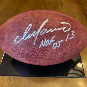 Dan Marino Signed Autographed The Duke Game Football Fanatics COA Dolphins
