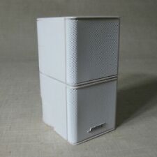 BOSE JEWEL DOUBLE CUBE WHITE LIFESTYLE 25/38/48/V35 SINGLE SPEAKERS NO CABLE